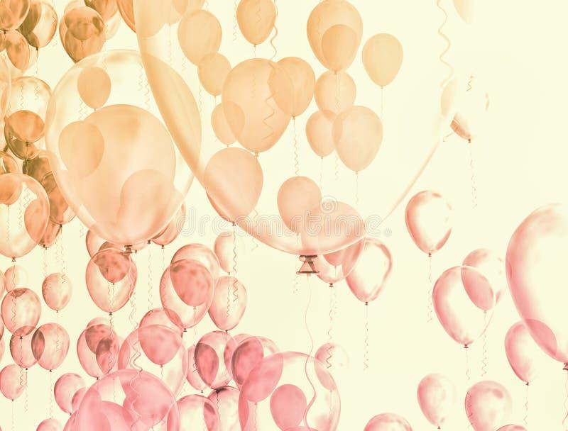 Przyjęcie balony royalty ilustracja