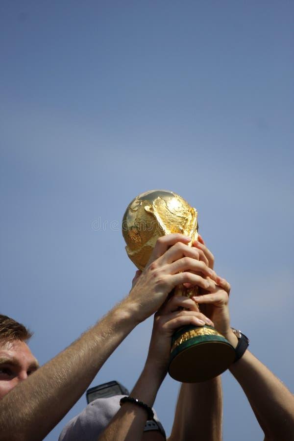 Przyjęcie dla Niemieckiej futbolowej światowej mistrz drużyny w Berlin obraz royalty free