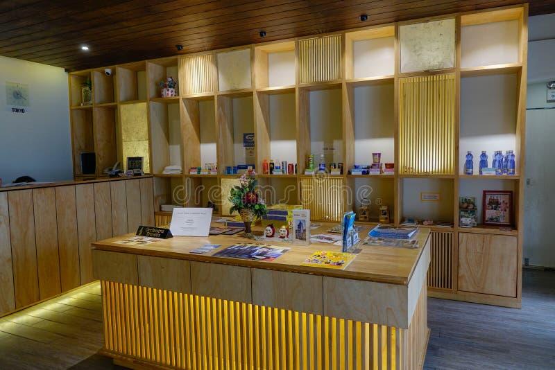 Przyjęcie drewniany schroniska dormitorium obraz royalty free