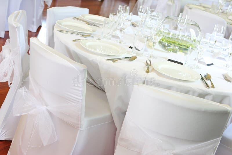 przyjęcie na ślub obraz stock