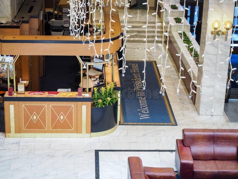 Przyjęcie prezydent hotel w Moskwa zdjęcie royalty free