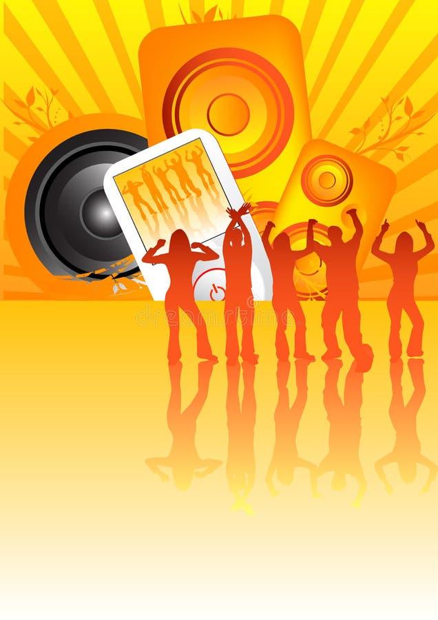 przyjęcie soundblast ilustracja wektor