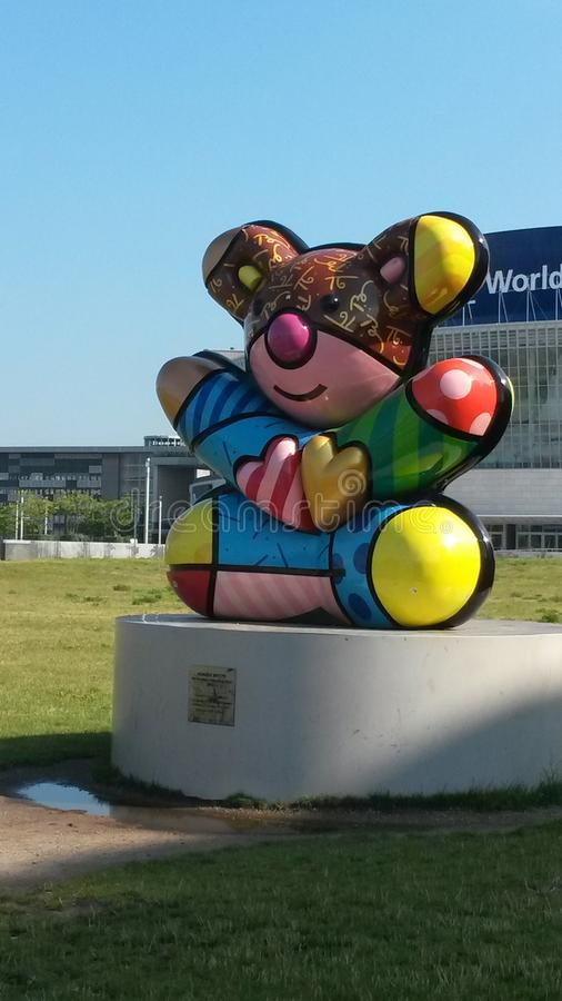 Przyjaźń niedźwiedź zdjęcie stock