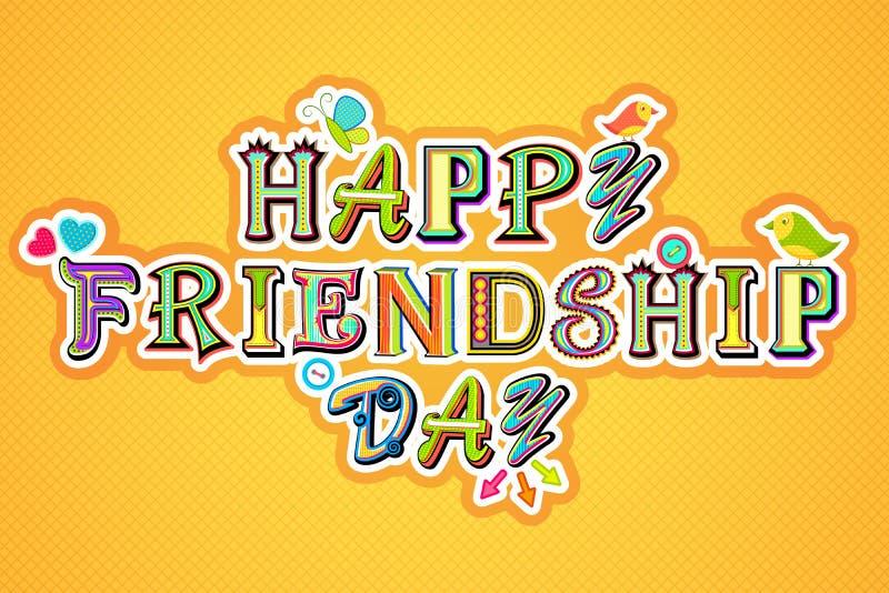 Przyjaźń szczęśliwy Dzień
