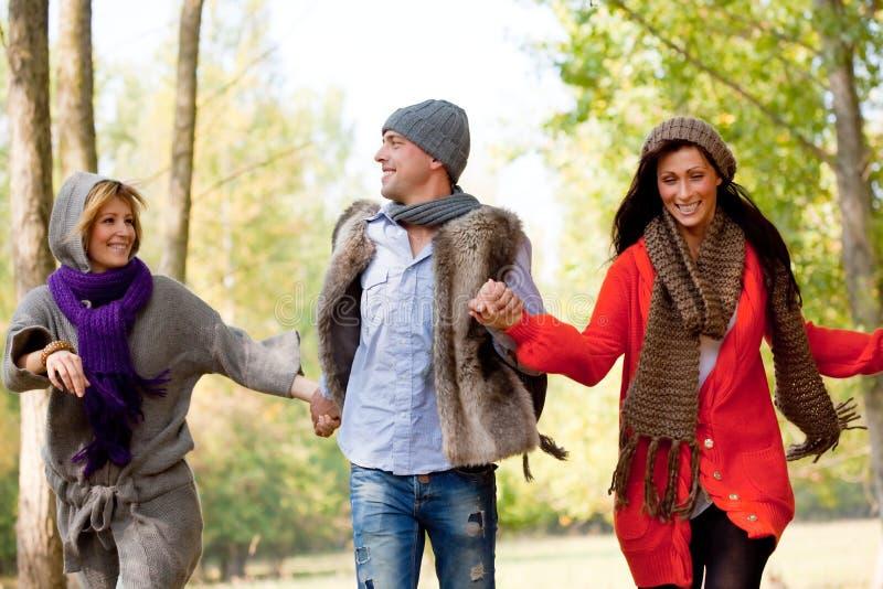 przyjaciół natury bieg zdjęcie royalty free