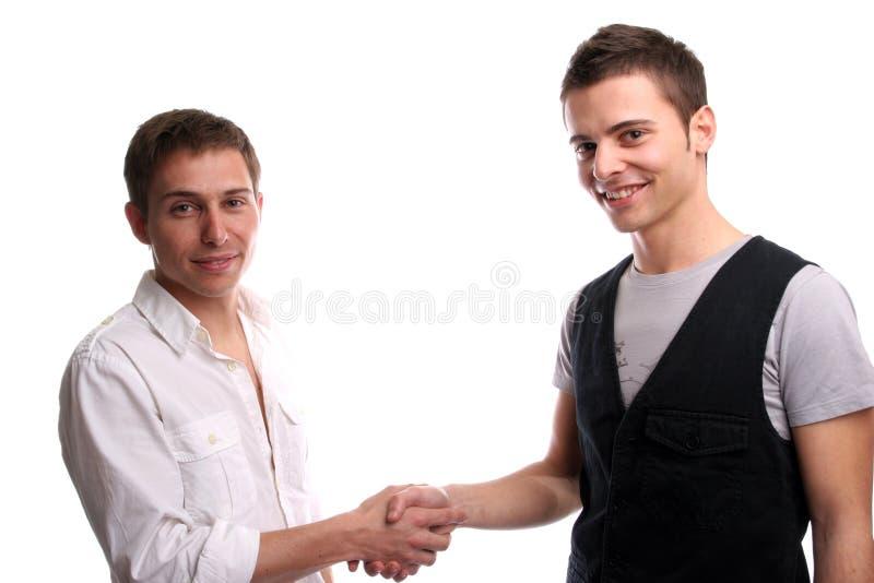 przyjaciel się dwie ręce zdjęcia royalty free