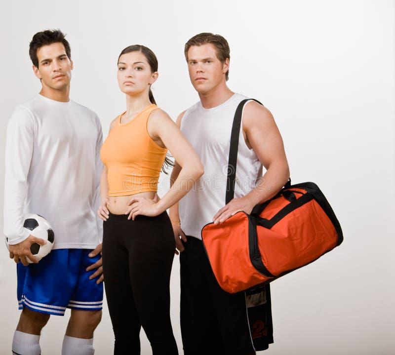 przyjaciela sportowy sportswear zdjęcie royalty free