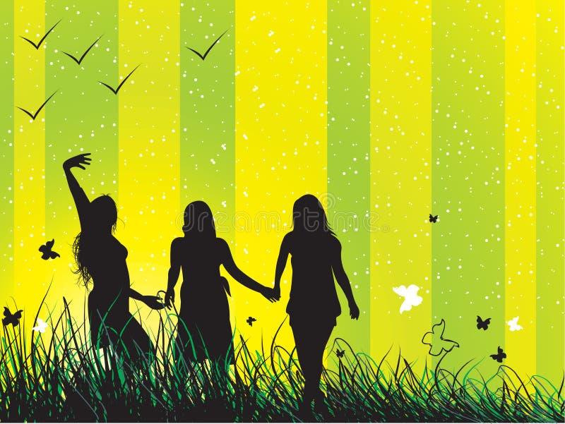 przyjaciele ilustracji