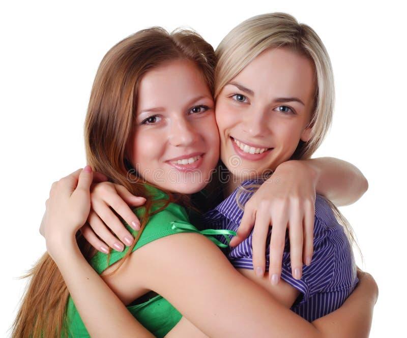przyjaciele szczęśliwi fotografia stock