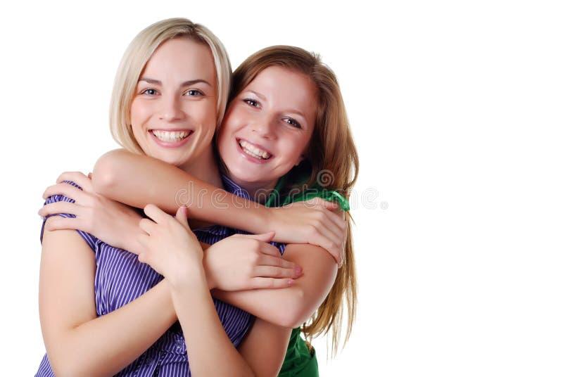 przyjaciele szczęśliwi obraz stock