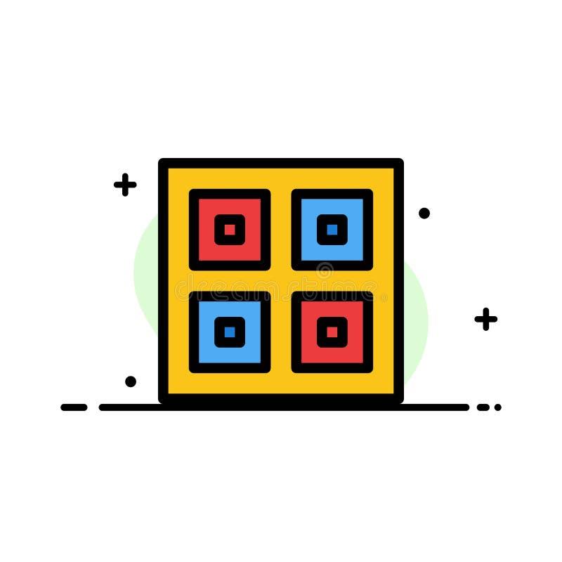 Przyjeżdżający, pudełka, dostawa, Logistycznie, wysyłka biznesu mieszkania ikony sztandaru linia Wypełniający Wektorowy szablon ilustracji