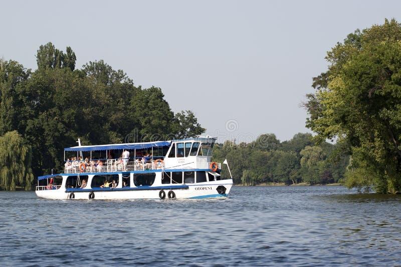 Przyjemności łódź obrazy royalty free