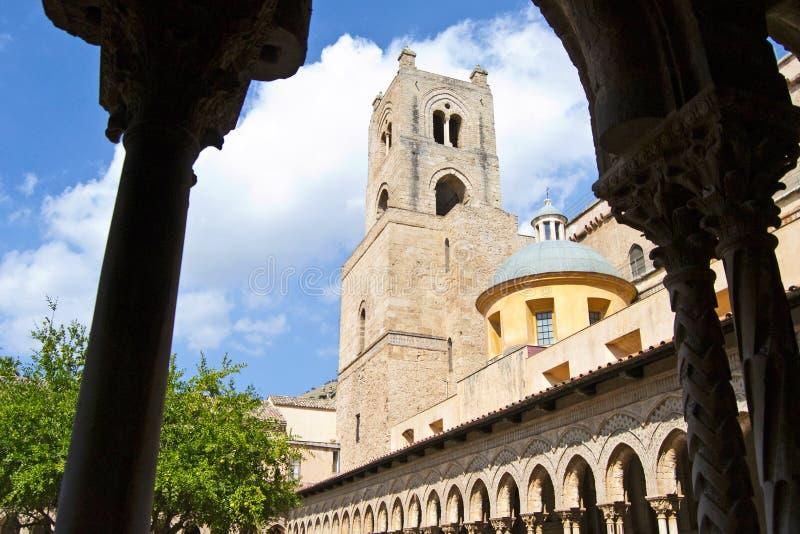 Przyklasztorny katedra Monreale obraz royalty free