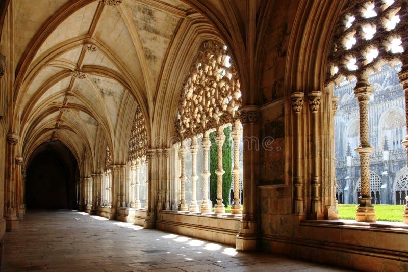 Przyklasztorny monaster Batalha zdjęcie stock