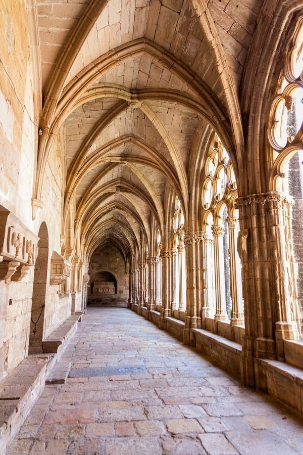 Przyklasztorny monaster Santa Maria De Santes Creus fotografia stock