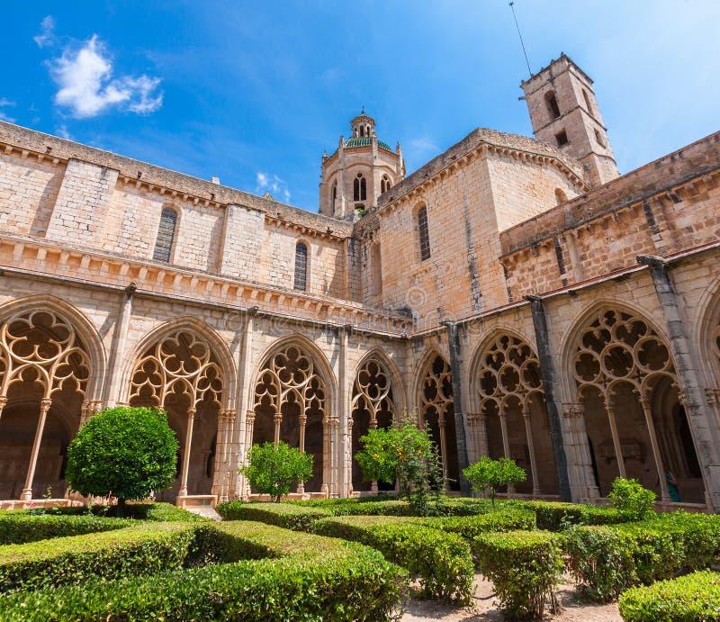Przyklasztorny monaster Santa Maria De Santes Creus obrazy royalty free
