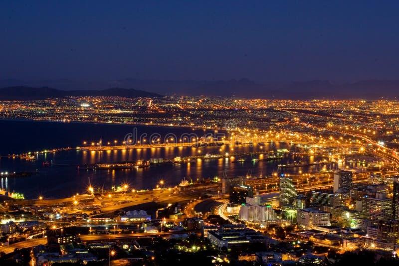 przylądek 1 miasta widok fotografia stock