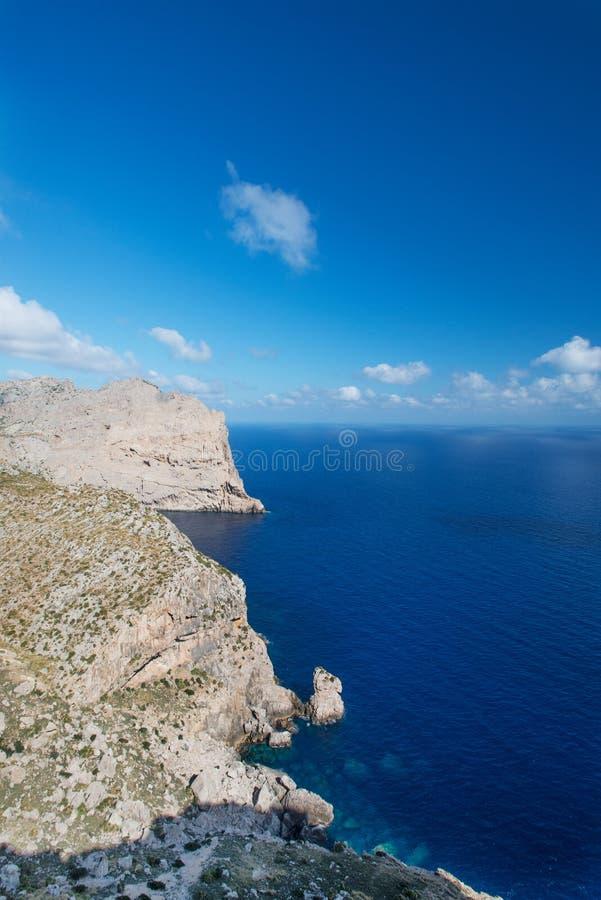 Przylądek Formentor fotografia stock