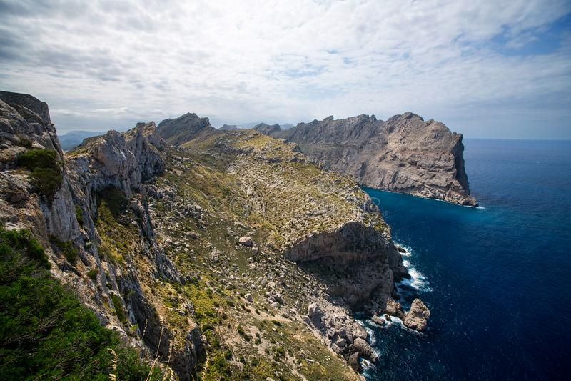 Przylądek Formentor, Mallorca, Hiszpania fotografia royalty free