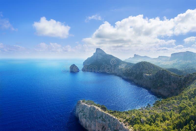 Przylądek Formentor w Mallorca zdjęcie royalty free