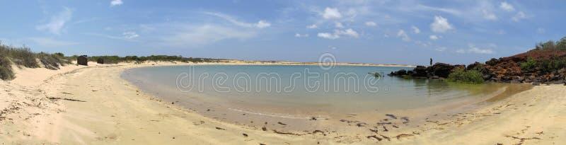 Przylądek Leveque blisko Broome, zachodnia australia zdjęcia stock