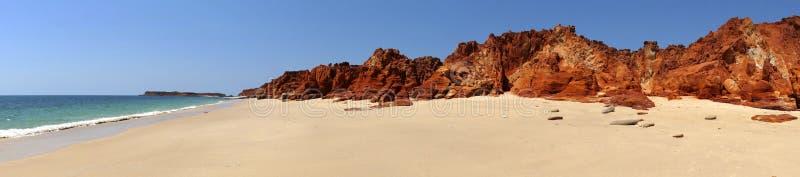 Przylądek Leveque blisko Broome, zachodnia australia obrazy royalty free