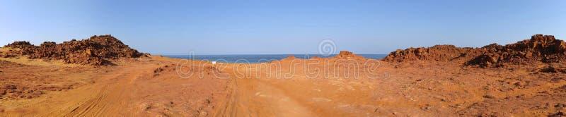 Przylądek Leveque blisko Broome, zachodnia australia zdjęcie royalty free