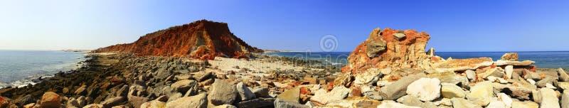 Przylądek Leveque blisko Broome, zachodnia australia zdjęcia royalty free