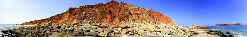 Przylądek Leveque blisko Broome, zachodnia australia obraz royalty free