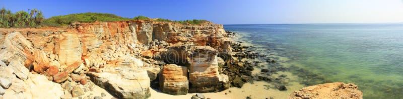 Przylądek Leveque blisko Broome, zachodnia australia fotografia stock