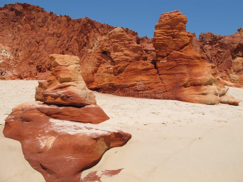 Przylądek Leveque, zachodnia australia zdjęcie stock