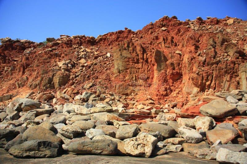 Przylądek Leveque, zachodnia australia fotografia stock