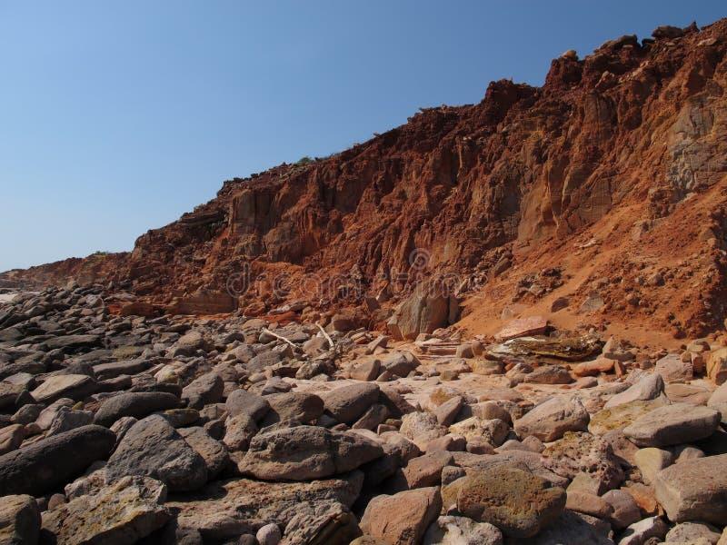 Przylądek Leveque, zachodnia australia obrazy stock