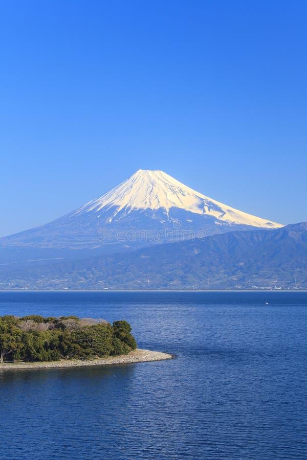Przylądek Osezaki i Mt fuji zdjęcia stock