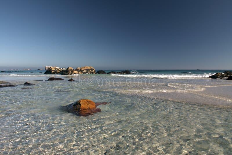 przylądek plażowy clifton miasta fotografia royalty free