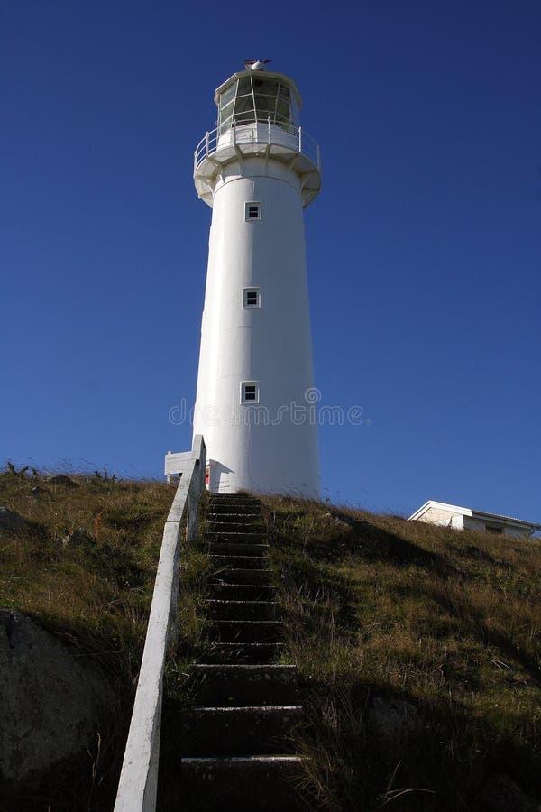 Przylądka Egmont latarnia morska obrazy royalty free