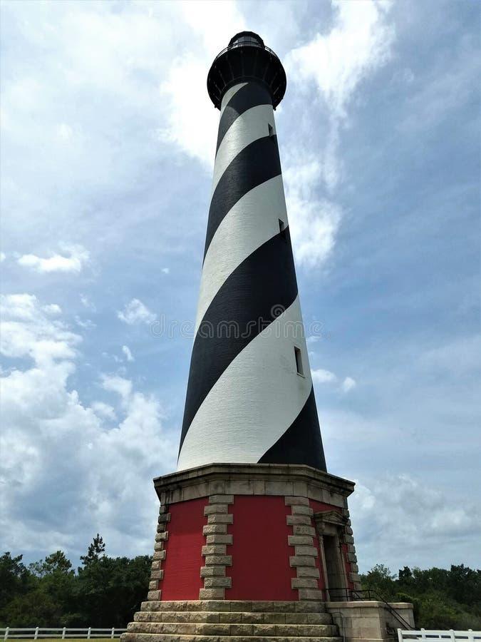 Przylądka Hatteras latarnia morska zdjęcia stock