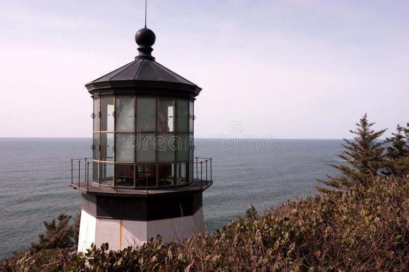 Przylądka Mears latarni morskiej Pacyficzny zachodnie wybrzeże Oregon Stany Zjednoczone zdjęcia royalty free