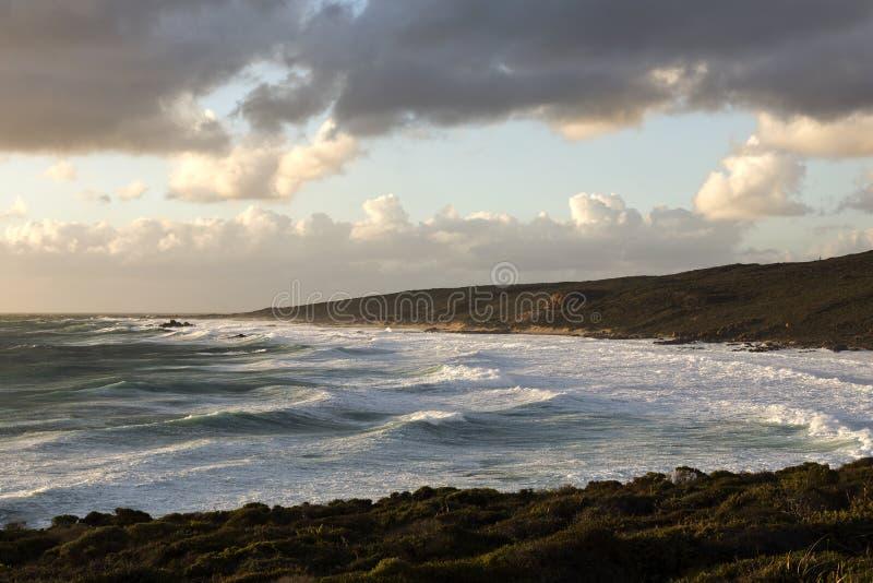 Przylądka Naturaliste Sugarloaf plaża obraz royalty free