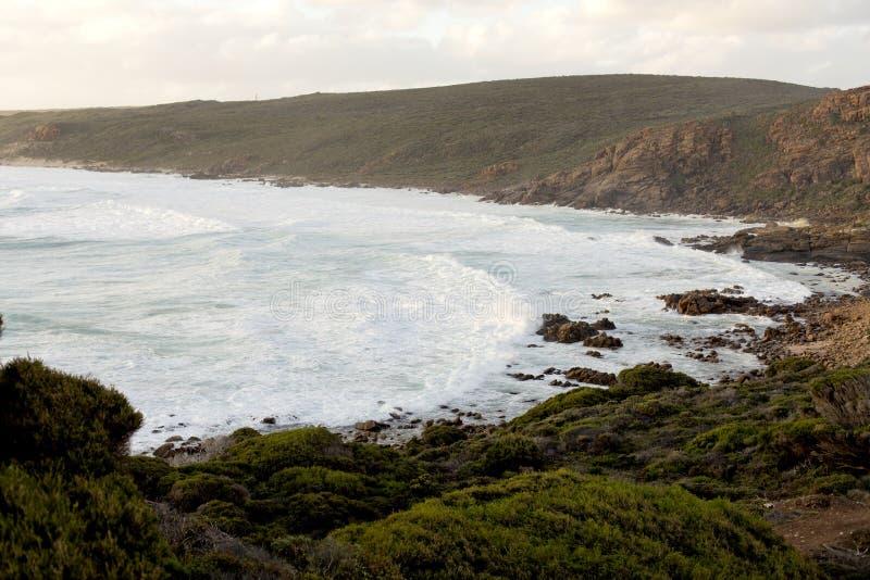 Przylądka Naturaliste Sugarloaf plaża obrazy royalty free