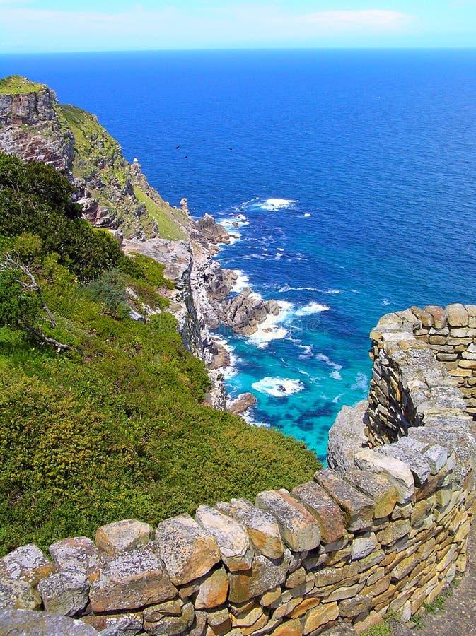 przylądka oceanu punktu sceneria zdjęcie royalty free