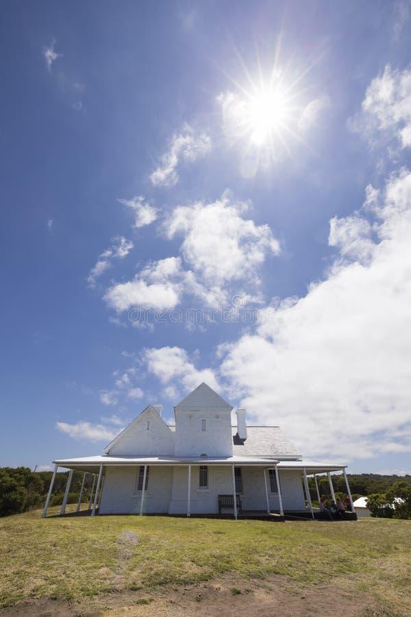 Przylądka Otway telegrafu stacja, Wielka ocean droga, Wiktoria, Australia zdjęcia royalty free