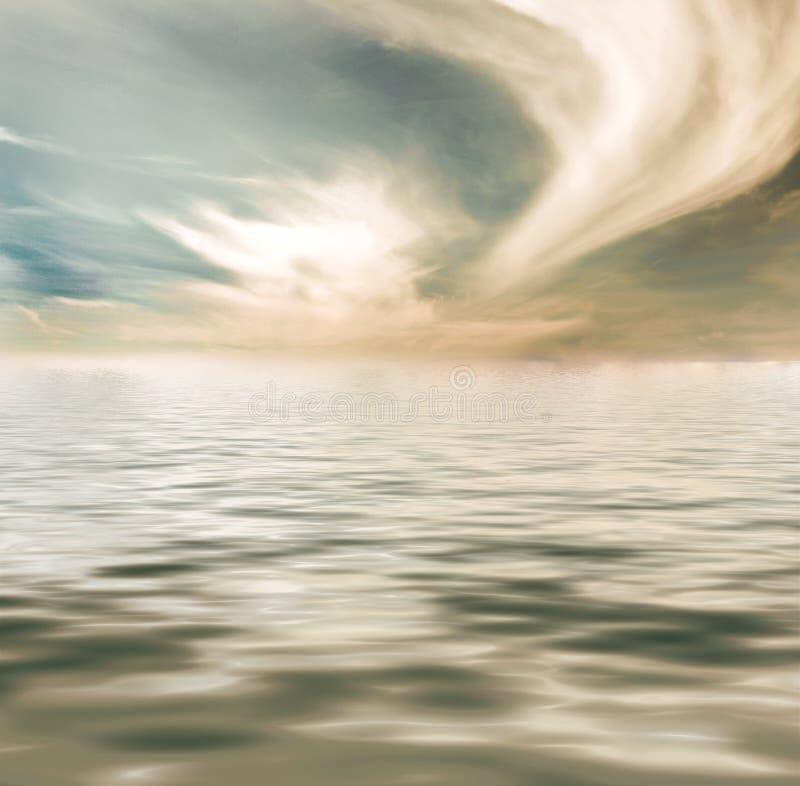 przypływ woda zdjęcia stock