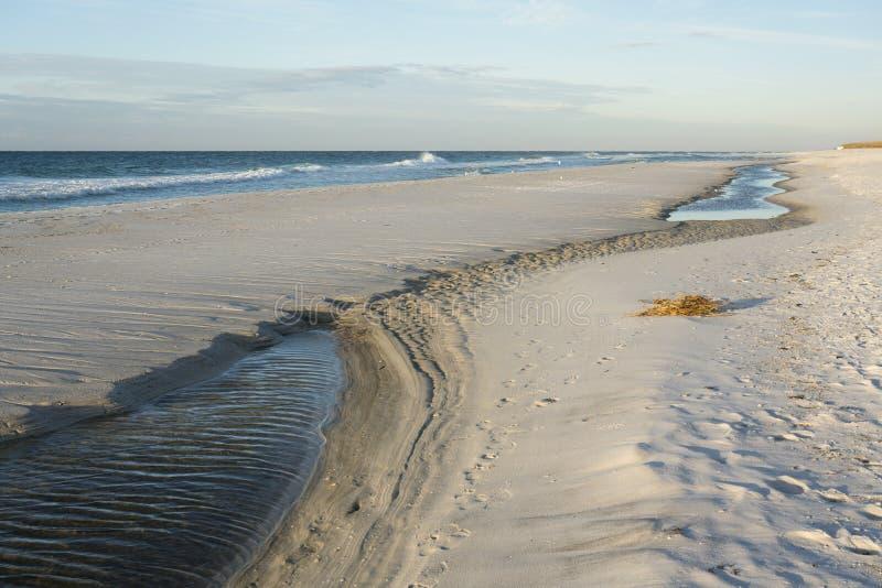 Przypływu basen przy Floryda plażą zdjęcia royalty free