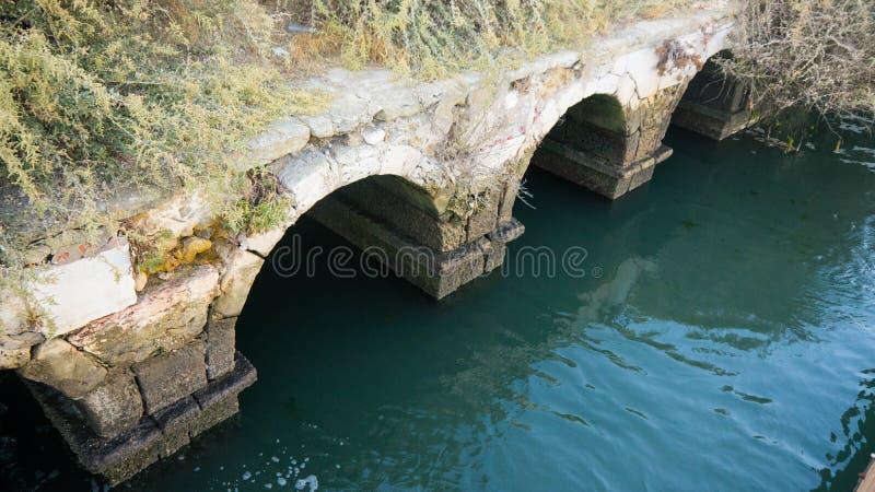 Przypływu Wodnego młynu ruiny zdjęcia royalty free
