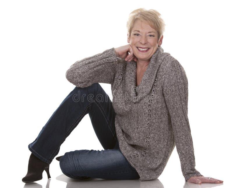 Przypadkowa kobieta zdjęcie stock