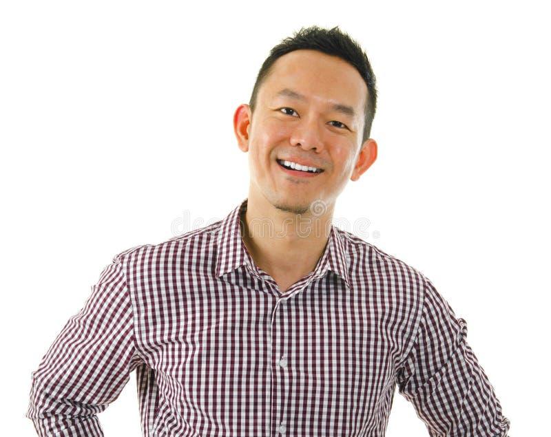 Przypadkowy Azjatycki mężczyzna fotografia royalty free