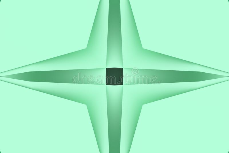 Przypadkowy geometryczny t?o Dla graficznego projekta lub t?a, CGI 3 d czyni? ilustracja wektor