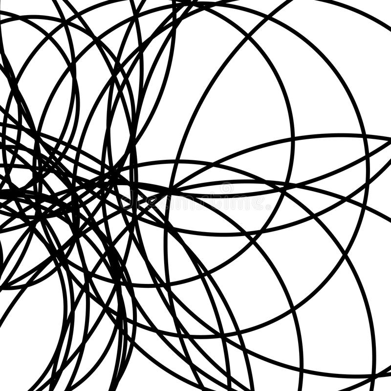 Przypadkowy przecina linia abstrakta wzór, tekstura/ geometryczny ilustracji