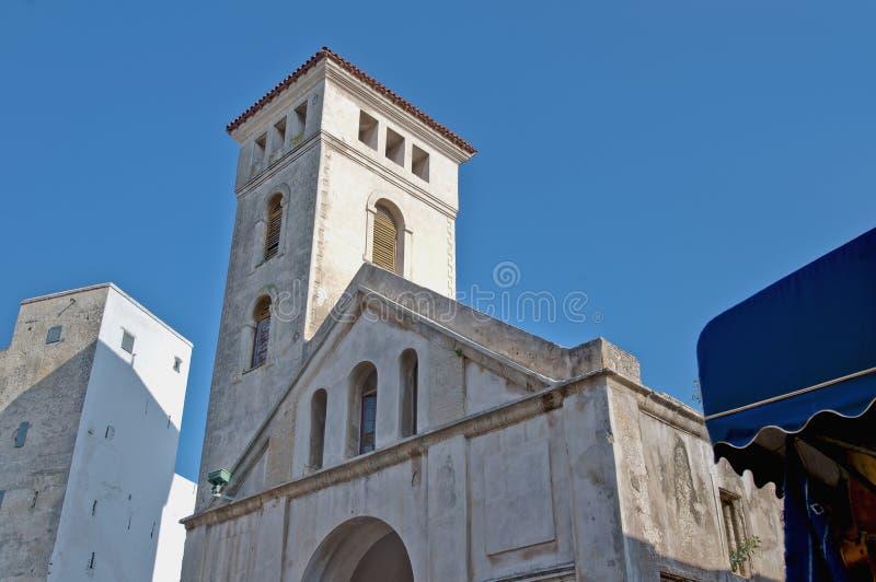 przypuszczenia kościelny el jadida Morocco obraz stock